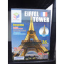 Rompecabeza 3d Puzzle Torre Eiffel, Estadio Azul, Excavadora