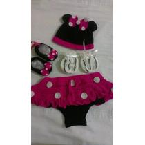 Conjunto Tejido De Mickey Minnie Y Hello Kitty