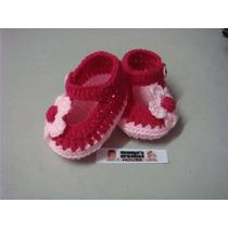 Hermosos Zapatos Tejidos Para Su Bebe