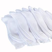 Medias De Bebé Escolares Talla 2-4-6 Color Blanco (1 Par)