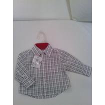 Camisa Epk Nueva De Bebe Varon 3 Meses