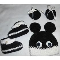Vestido Y Gorros Tejido A Crochet