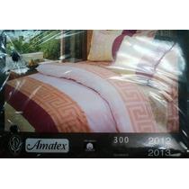 Sabanas Individuales 100% Algodon Para Colchon Doble Pillows