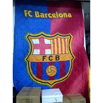 Edredon Con Sábanas De Real Madrid Barcelona Individual