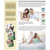 Protector De Colchón - Bondex Antialergico Antiacaros Indv