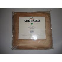 Cobija Plush Premium Ama De Casa Individual 100% Poliéster