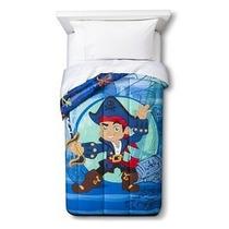 Edredon De Jake El Pirata Disney Importado