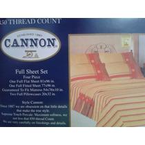 Sabanas Cannon Matrimonial Original