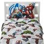 Juego De Sabana Individual De Los Super Heroes Avengers