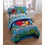 Sabanas Individuales Angry Birds Importada