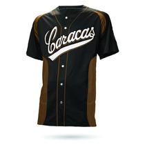 Camisa Visitante Original Leones Del Caracas 2014/15
