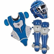 Juego Infantil Catcher Louisville Color Azul Electrico, Rojo