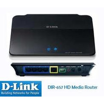 Router Inalambrico Dlink Dir-657 Streaming Media Hd N300 Mb