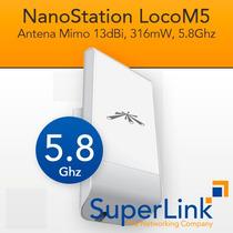 Ubiquiti Nanostation Loco M5 5.8ghz 13dbi Factura Fiscal