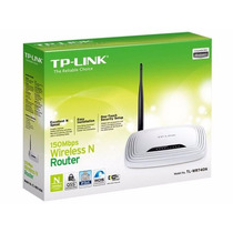 Router Tp-link Tl-wr740n 150mbps Wps Ip Qos 2.4ghz 4 Puertos