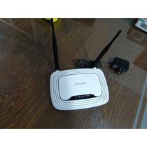 Router Tp-link Wr841nd Doble Antena En Perfectas Condiciones