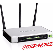Router Inalambrico Tp-link N A 300mbps 3 Antenas Tl-wr941nd