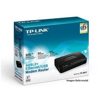 Modem Router Tp-link Adsl2 + Modem Td-8817 Banda Ancha
