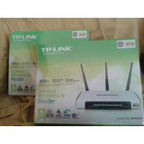 Router Tp-link Tl-wr940n 300mbps Wifi 3 Antenas