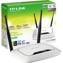 Router Inalambrico 2 Antenas Wifi Tplink Wr-841n 300 Mb New