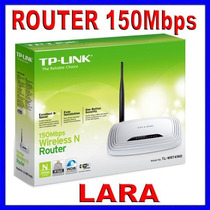 Router Inalambrico Tp-link 1 Antena 150mbps, Tl-wr741nd