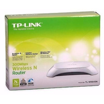 Router Tp-link Wr-840n 300 Mbps 2 Antenas Internas