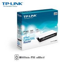 Router Tp-link Tl-r860 10/100mbps Dsl 8 Puertos