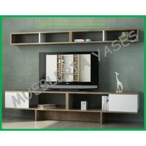 Mueble Sala Modulares Tv Moderno Minimalista Imperator