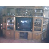 Mueble De Madera De Lujo, Home Teather, Tv De Estados Unidos