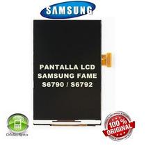 Pantalla Samsung Fame Lite S6790 - S6792 100 % Originales