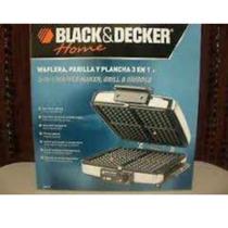 Waflera 3 En 1. Black & Decker