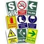 Señalización Autoadhesiva, De Ley Y Avisos De Precaución