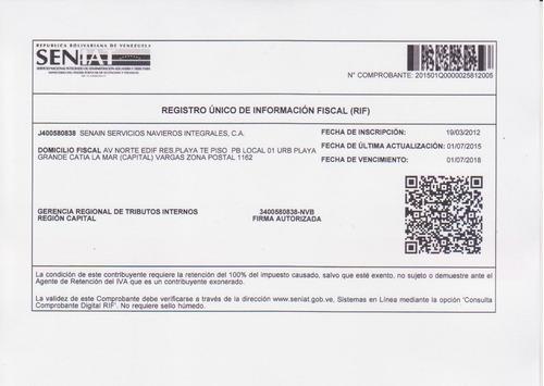 Senain Servicios Navieros Integrales, Ca.