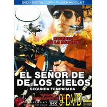 El Señor De Los Cielos 2 Completa En 9 Dvd Calidad Hd 1080
