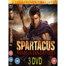 Spartacus En 3 Dvd Temporada 4 Formato Original