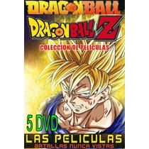 Peliculas De Dragon Ball Y Dragon Ball Z Formato Original