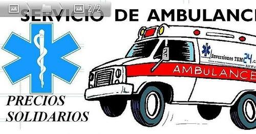 Servicio De Ambulancias Y Traslados Pre Hospitalarios