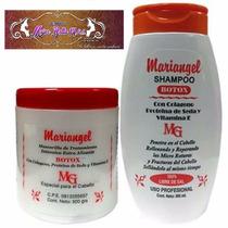 Mariangel, Mascarilla 500g Y Shampoo 365ml Sin Sal