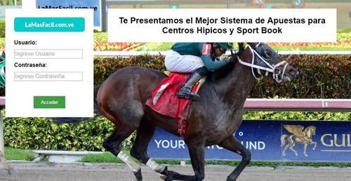 Sistema De Apuestas Para Carreras, Centros Hípicos Sportbook