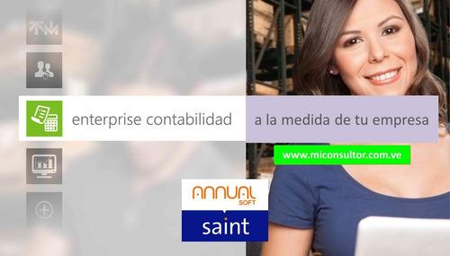 Sistema Saint Administrativo Contabilidad Nomina - Software