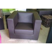 Mueble Sofa De Cuero Un Puesto Nuevo Poltrona Individual