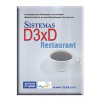 Sistema Admnistrativo D3xd Para Restaurant