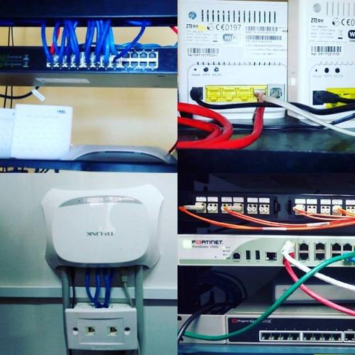 Soporte Técnico, Redes, Diseño Web, Infraestructura, Camaras