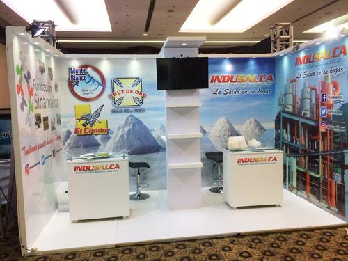 Stand Para Expo Y Escenografia Para Eventos Corporativos