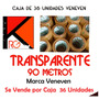 Cinta Tirro De Embalar Veneven 90 Metros Transparente