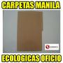 Carpetas Oficio Ecologicas Paq X 50unds Economicas (con Iva)