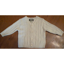Sweter Infantil Tejido Blanco The Children