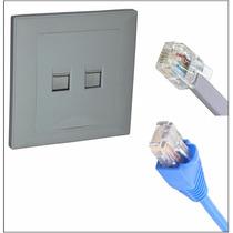 Conector Movwin De Linea Telefono 2 Cable Y Ethernet 8 Cable