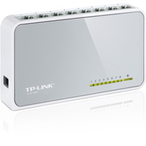 Switch Tp-link 8 Puertos 10/100mbps No Rackeable Tl-sf1008d