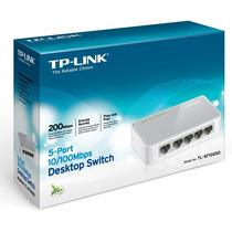 Switch De Escritorio Tp-link De 5 Puertos 10/100 Tl-sf1005d